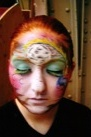 Thumbnail that leads to photos of painted faces